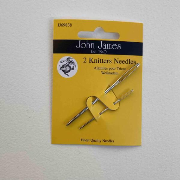 Bilde av 2 Knitters Needles - Monteringsnål