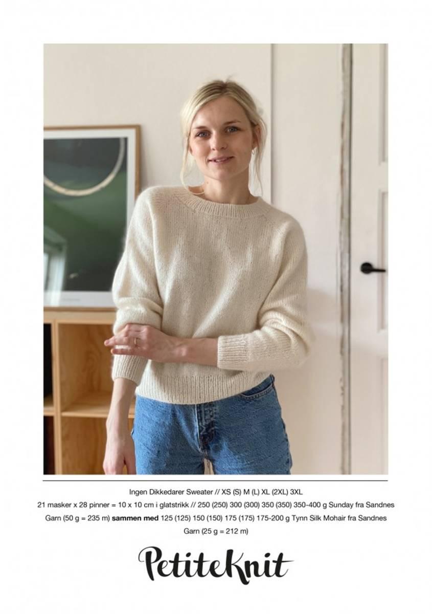 Ingen Dikkedarier Sweater - oppskrift